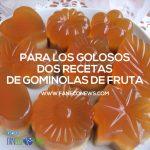 Gominolas de manzana sin gelatina animal