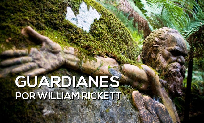 William Rickett creó guardianes para proteger la selva