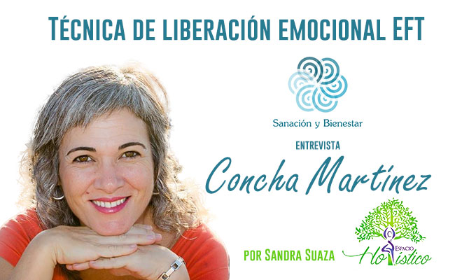 Técnica de Liberación Emocional, Terapeuta Concha Martínez