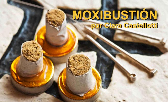 Moxibustion, artemisa