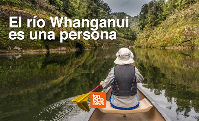 Whanganui es un río y es una persona