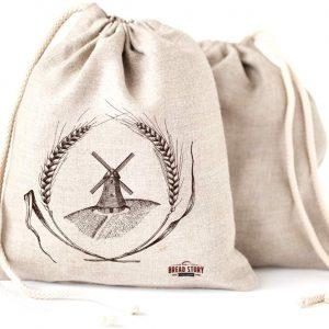 Bolsas de lino para pan